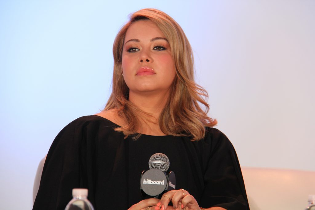 "Chiquis [Rivera] will open up during the 2017 Billboard Conference's ""The Life of Jenni Rivera,"" panel, photographed during 2016 Billboard Latin Conference's SoundExchange Fireside Chat (Photo by: Fredwill Hernandez/The Hollywood 360)"