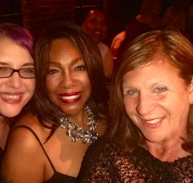 (L-R) The Hollywood 360's CEO/Editor Linita Masters Singer Mary Wilson and The Hollywood 360's Sheryl Aronson