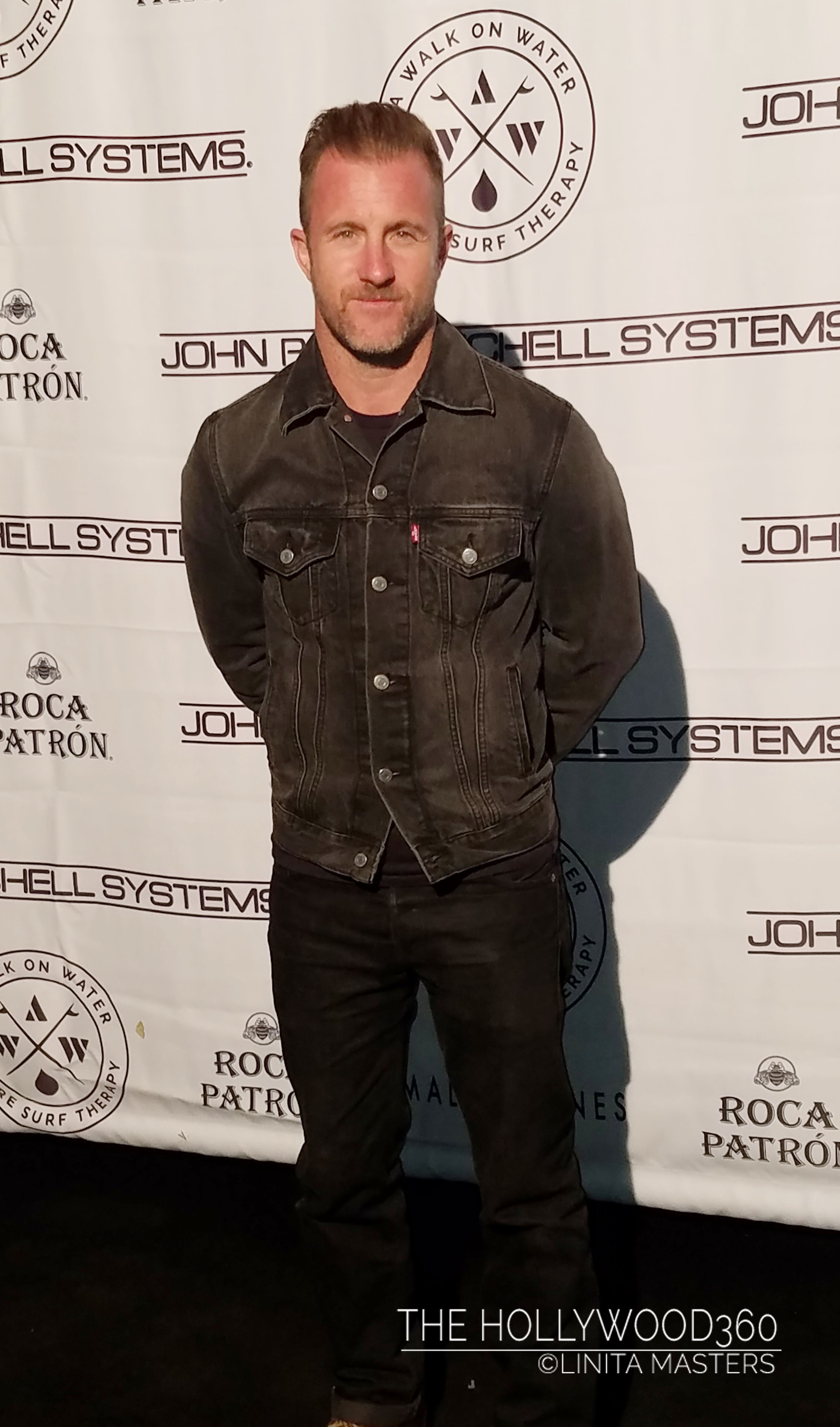 "Scott Caan ""Hawaii Five-0"" showing his support for A Walk On Water"