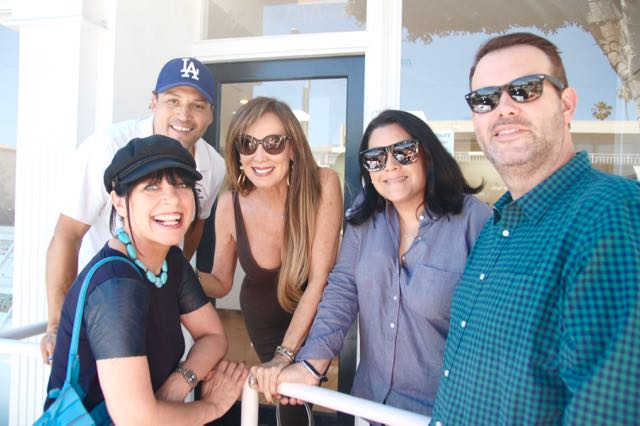 Film and Television Producer Cindy Cowan and her friends Patti & Josh Wedlock and Christine Peake