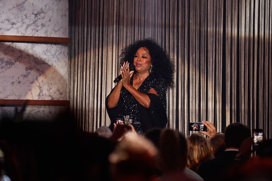Diana Ross Performs At amfAR Cannes Gala. Credit/ Getty Images