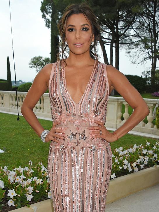 Eva Longoria at amfAR Cannes Gala - Credit / Getty Images