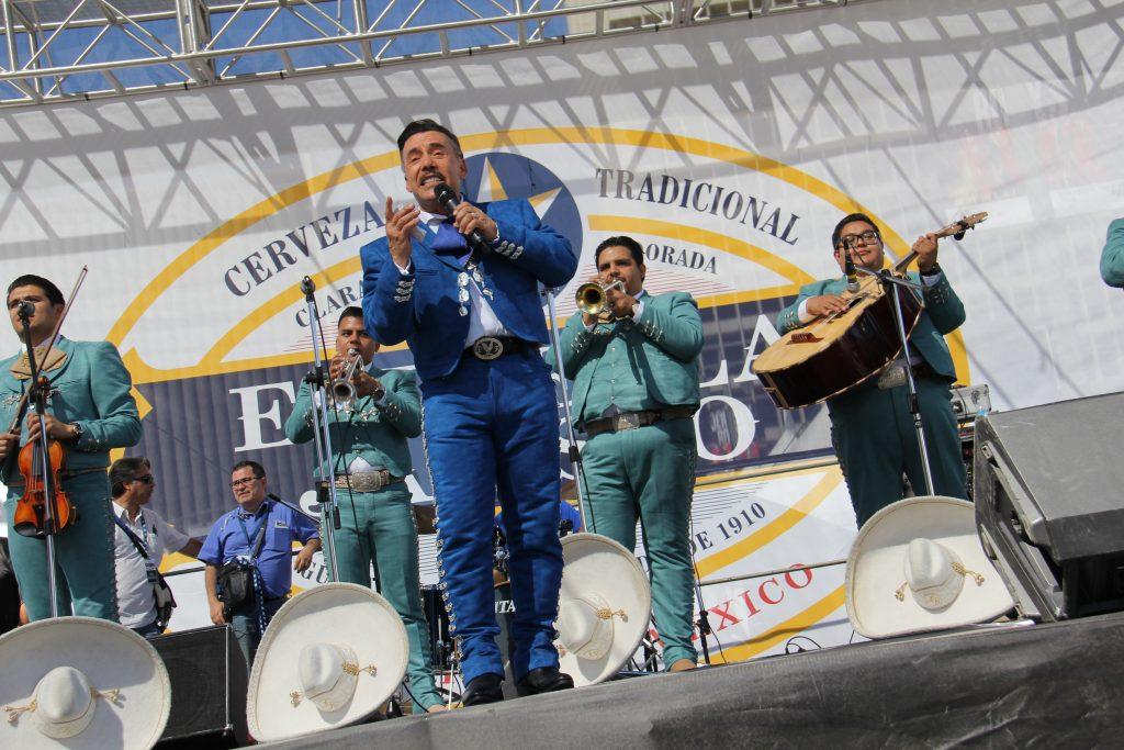 "Don Pedro Rivera ""El Patriarca Del Corrido"" captivates fiesta goears (Photo by: Fredwill Hernandez/The Hollywood 360)"