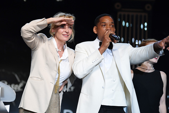 Uma Thurman and Will Smith- Credit Getty Images
