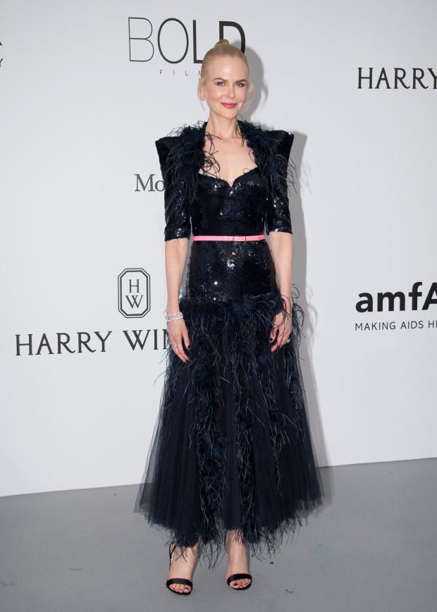 Nicole Kidman - Cannes 70th international film festival, Cap d'Antibes, southern France, Thursday, May 25, 2017. (Photo by Arthur Mola/Invision/AP)