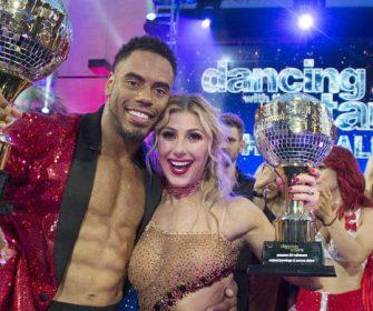 "Rashad Jennings & Emma Slater are ""Dancing with the Stars"" Season 24 Champions! #TeamShadSquad"