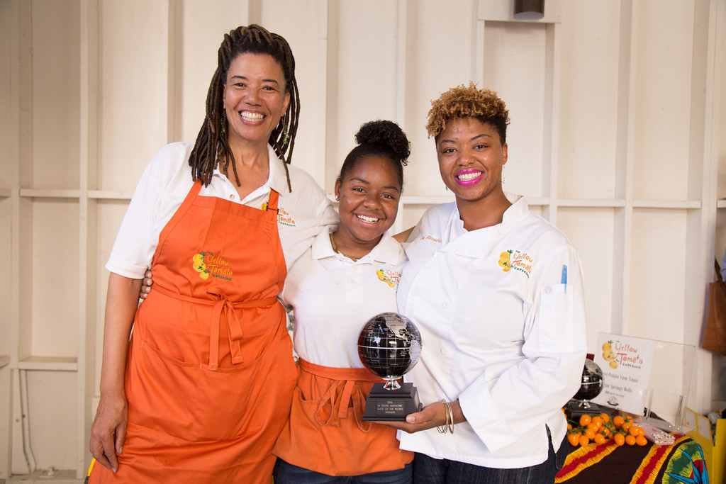 The 2015 & 2016 Taste of the World Winner: Yellow Tomato Catering
