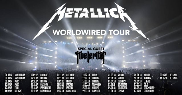 Metallica To Kick Off The Worldwired 2017 North American