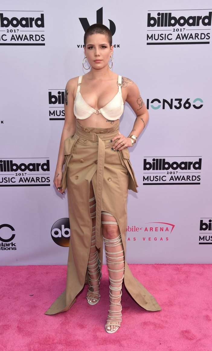 HALSEY (Photo by John Shearer/Getty Images via ABC)