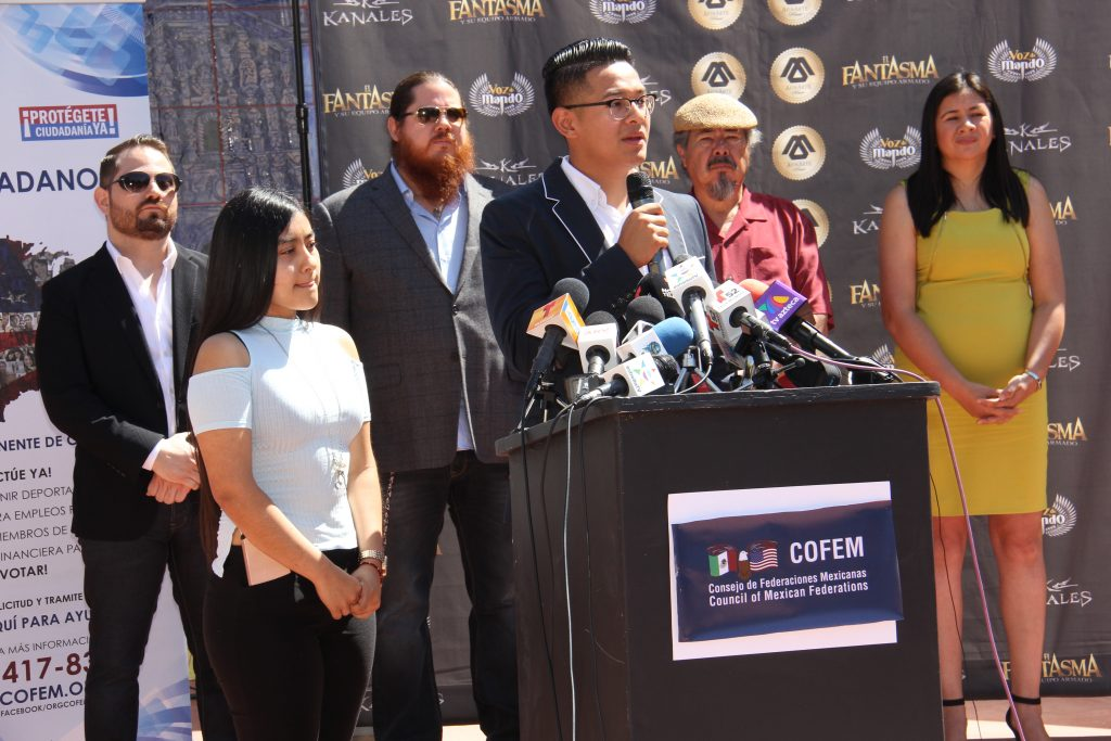 COFEM Scholarship recipient Ricardo Beltran, a DACA student opens up (Photo by: Fredwill Hernandez/The Hollywood 360)