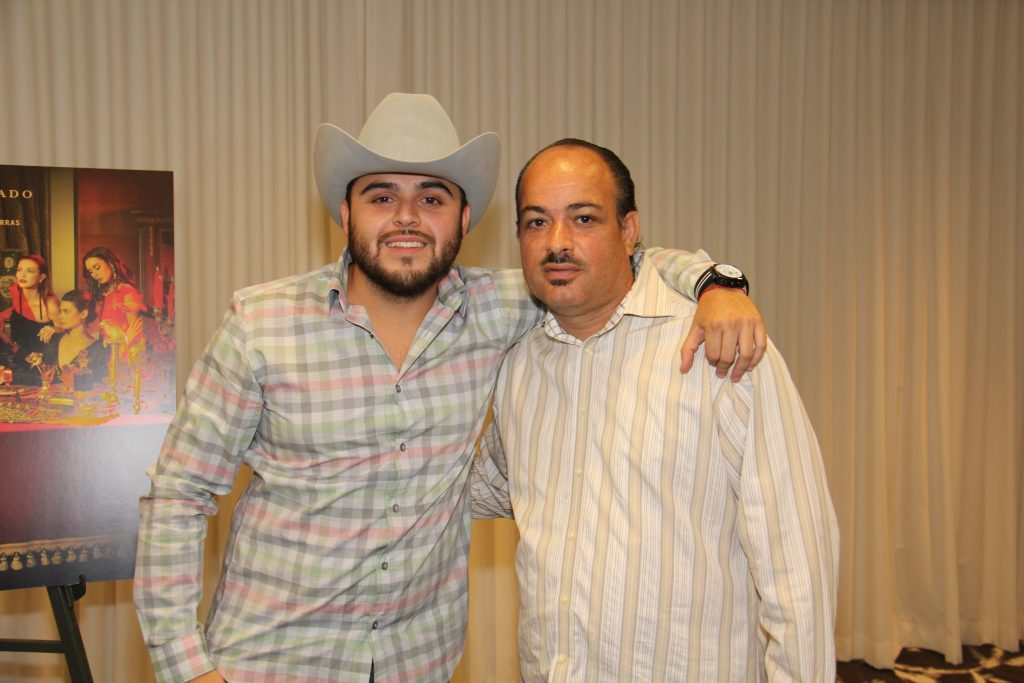 Gerardo Ortiz with The Hollywood 360's [360 Latin -Editor] Fredwill