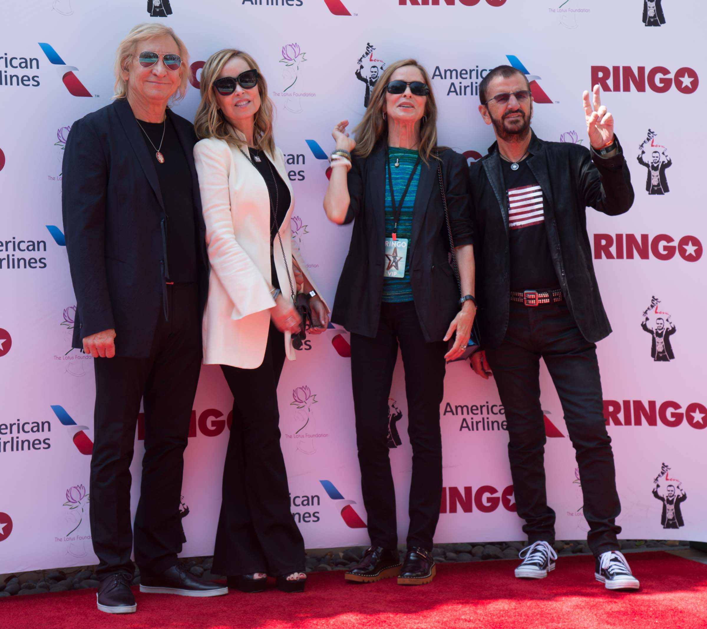 Ringo Starr Attends Peace Love Birthday Celebration 2016 Photo The Hollywood