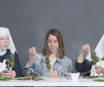 Watch Aubrey Plaza Get High With The Weed Nuns @GunpowderSky