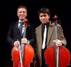 Ruslan Biryukov and Nathan Lee