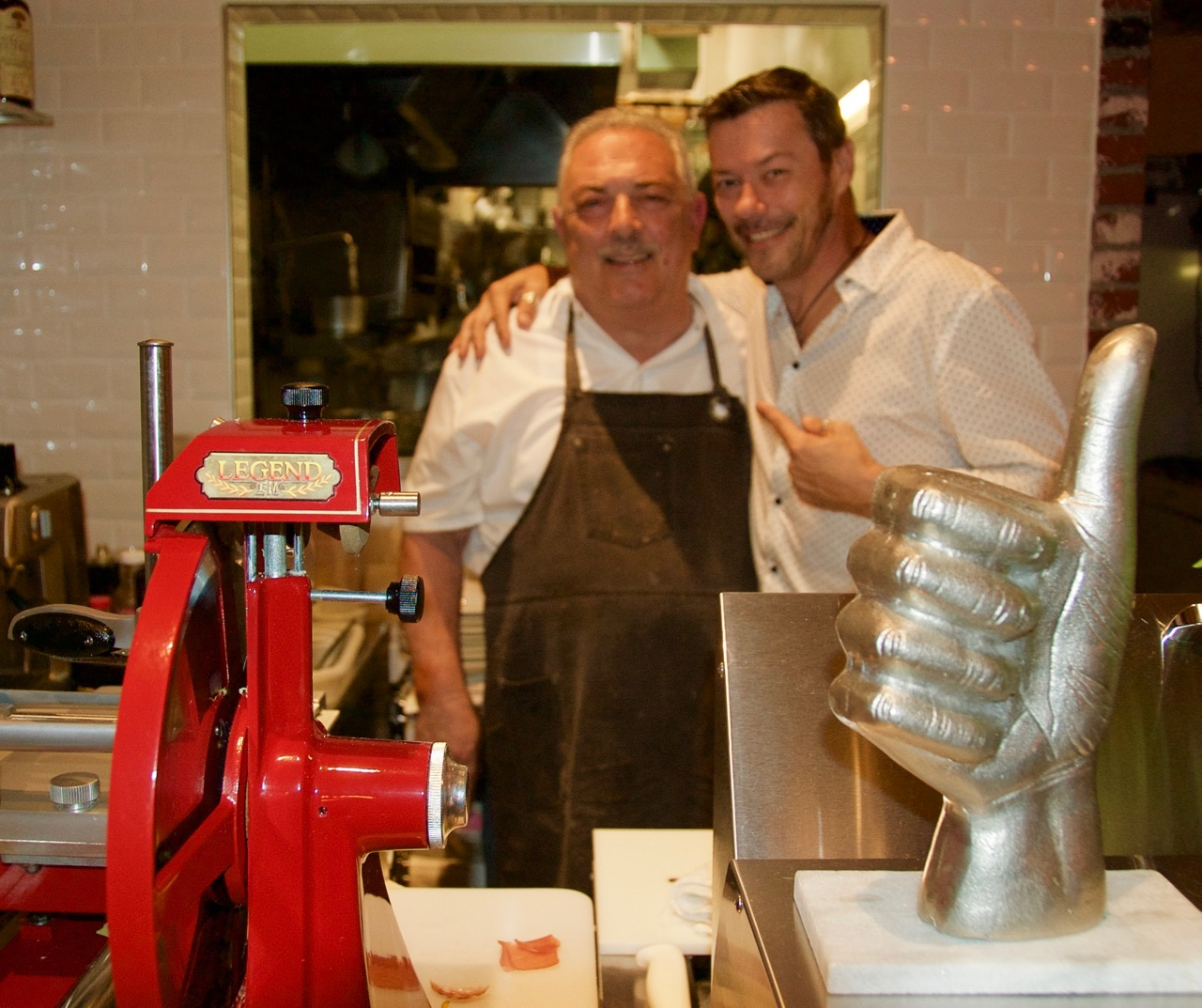 Osteria bigoli restaurant chef claudio marchesen makes you Chef comes to your house