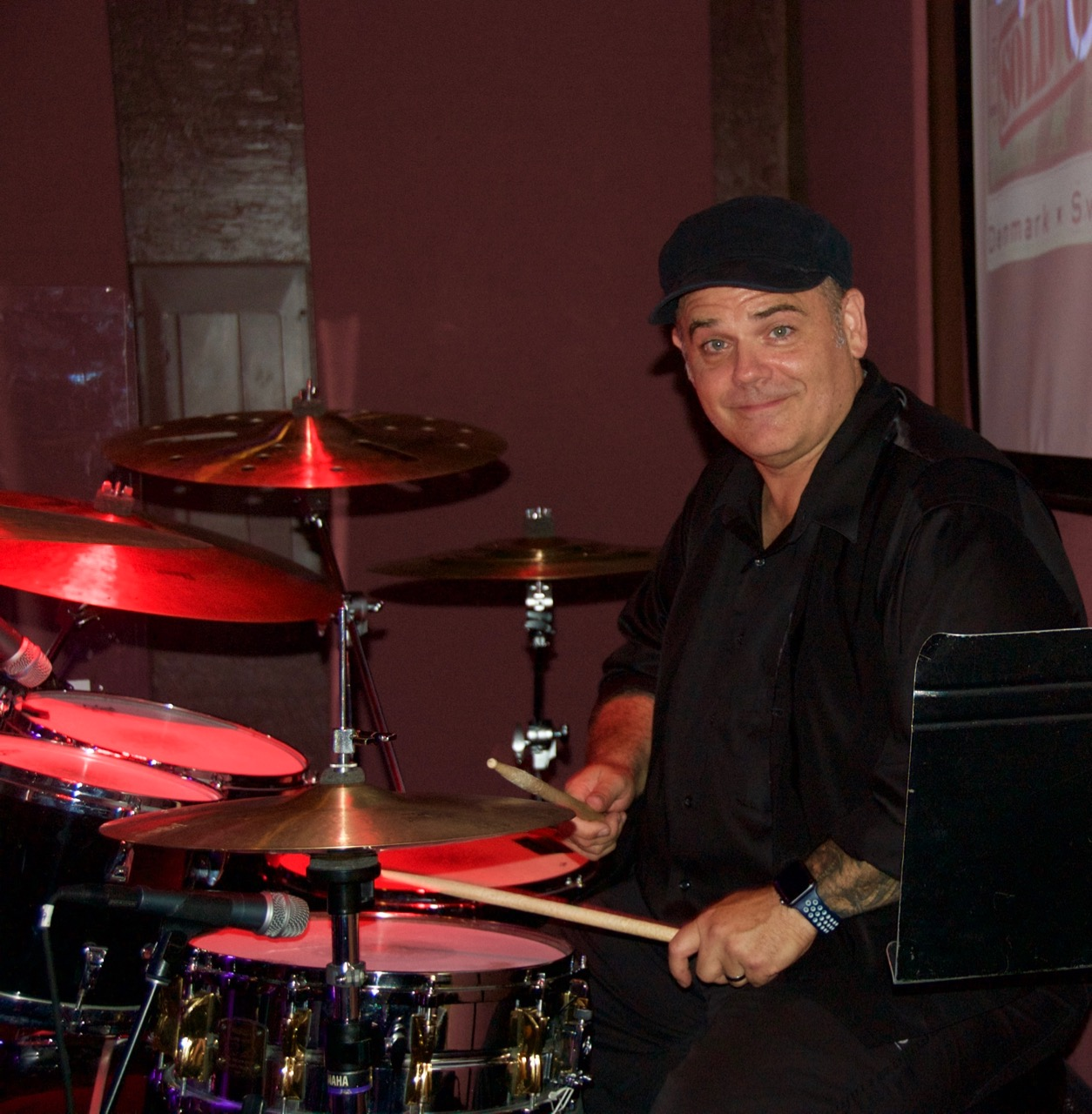 Dave Cooper (Shane's brother-in-law) on drums (2)