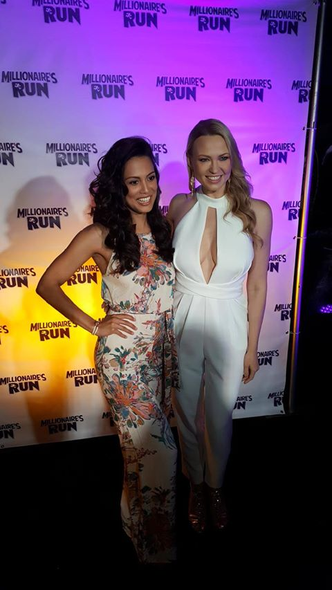 IRINA VORONINA and Raquel Pomplun (Photo : Millionaire's Run)