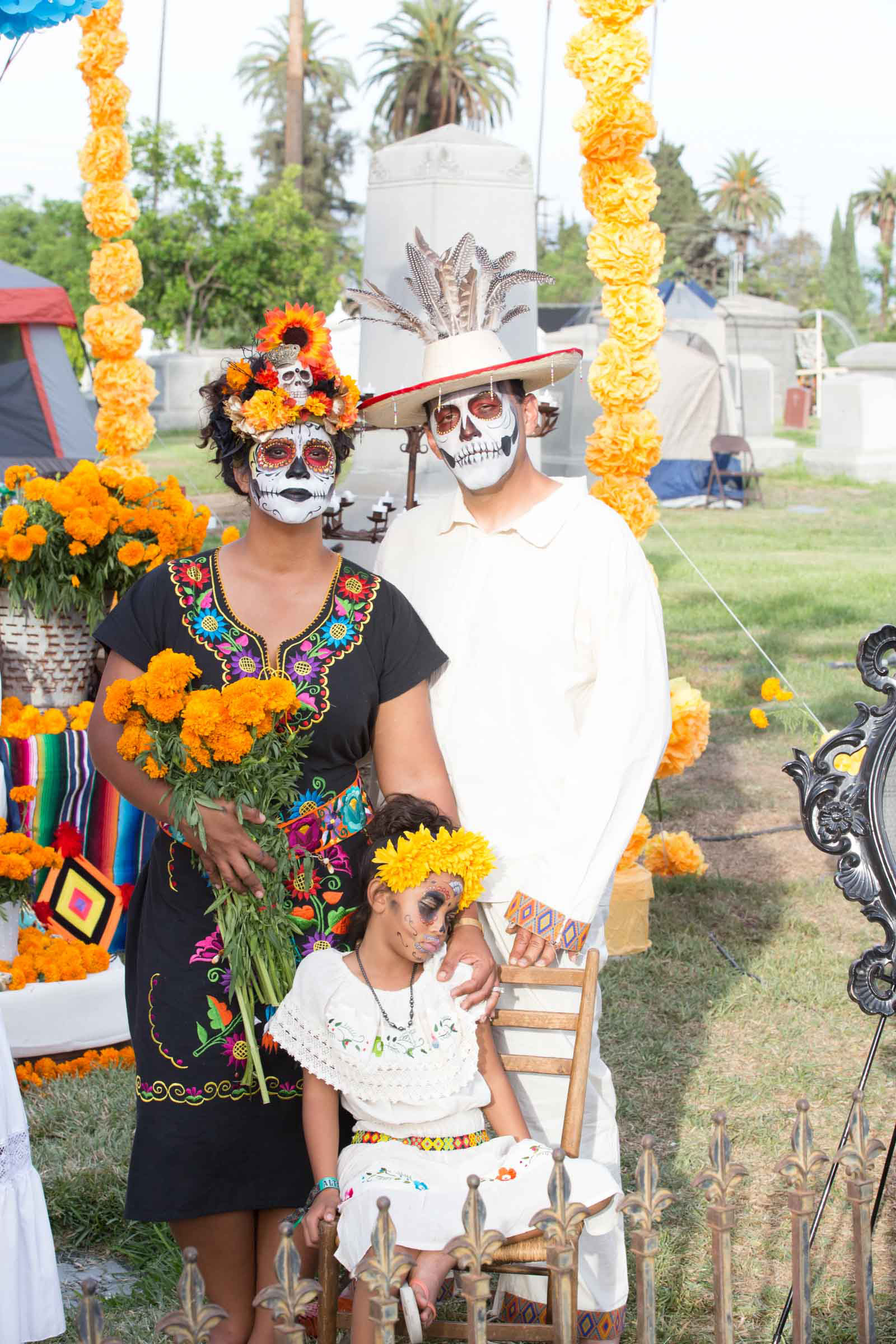 Dia De Los Muertos - Hollywood Forever Cemetary 2015   Photo Credit : The Hollywood 360