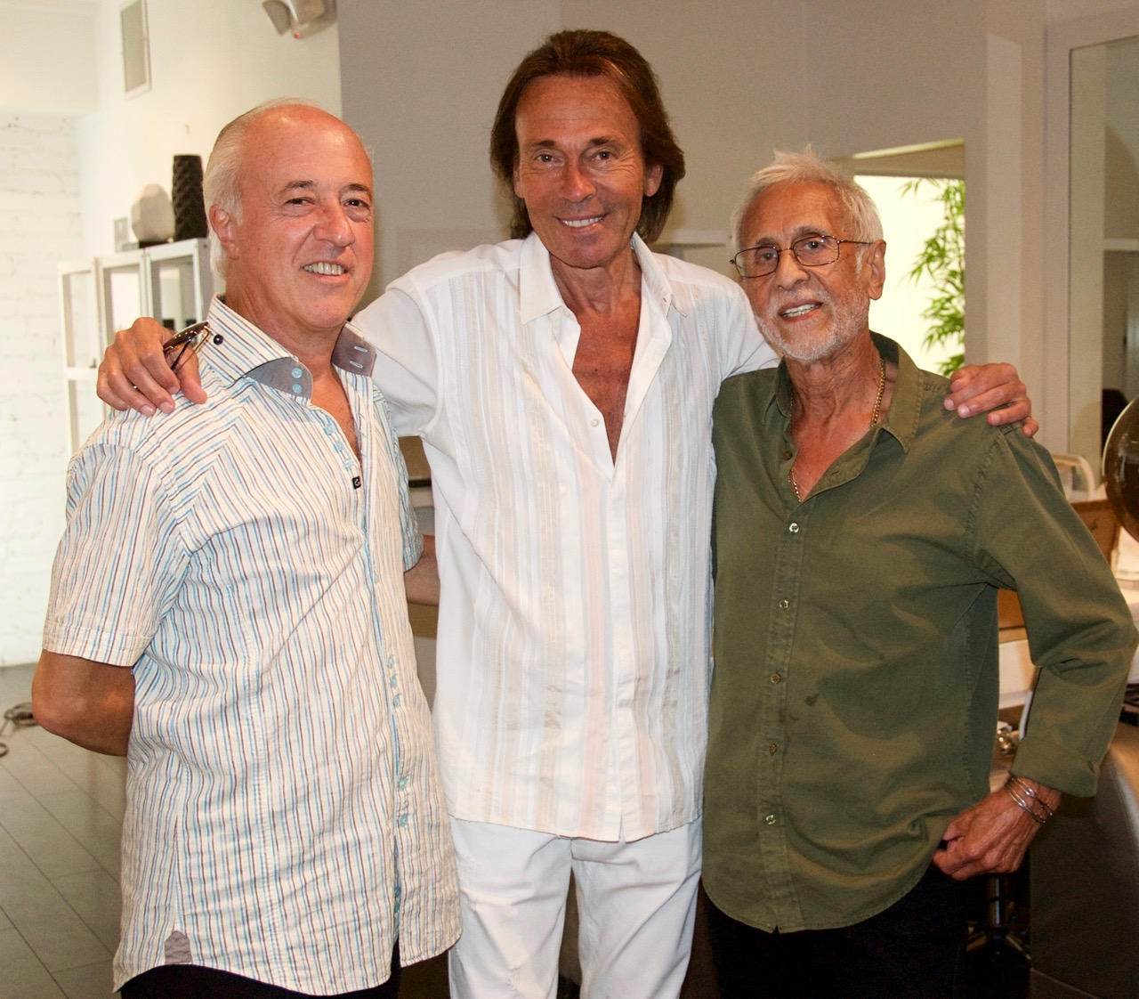 Peter Ciotti, Cristophe, and Antonio Garcia
