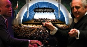 gershwin under the stars at the Hollywood Bowl