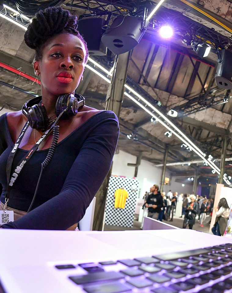 DJ Pam Bam Performs At Bread & Butter by Zalando 2017