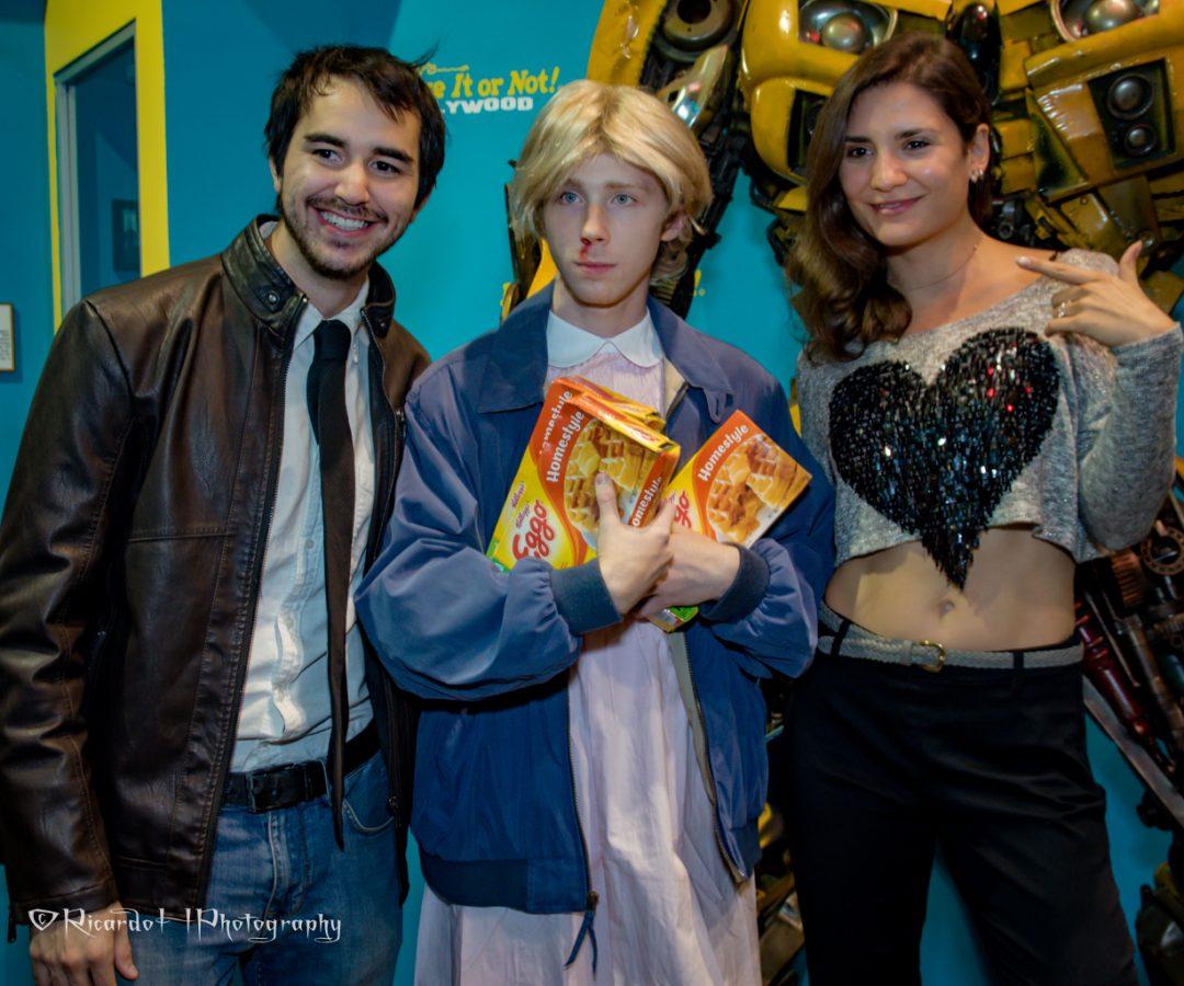 Ilmar Molder, Joey Luthman and Tatyana Figueiredo