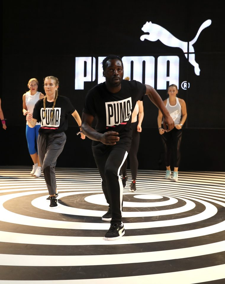 Puma Dance Workout With Aaron Night – Bread & Butter by Zalando 2017