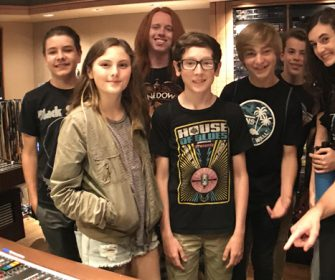 Kids record Van Halen 1 Live in One Day at Sunset Sound!