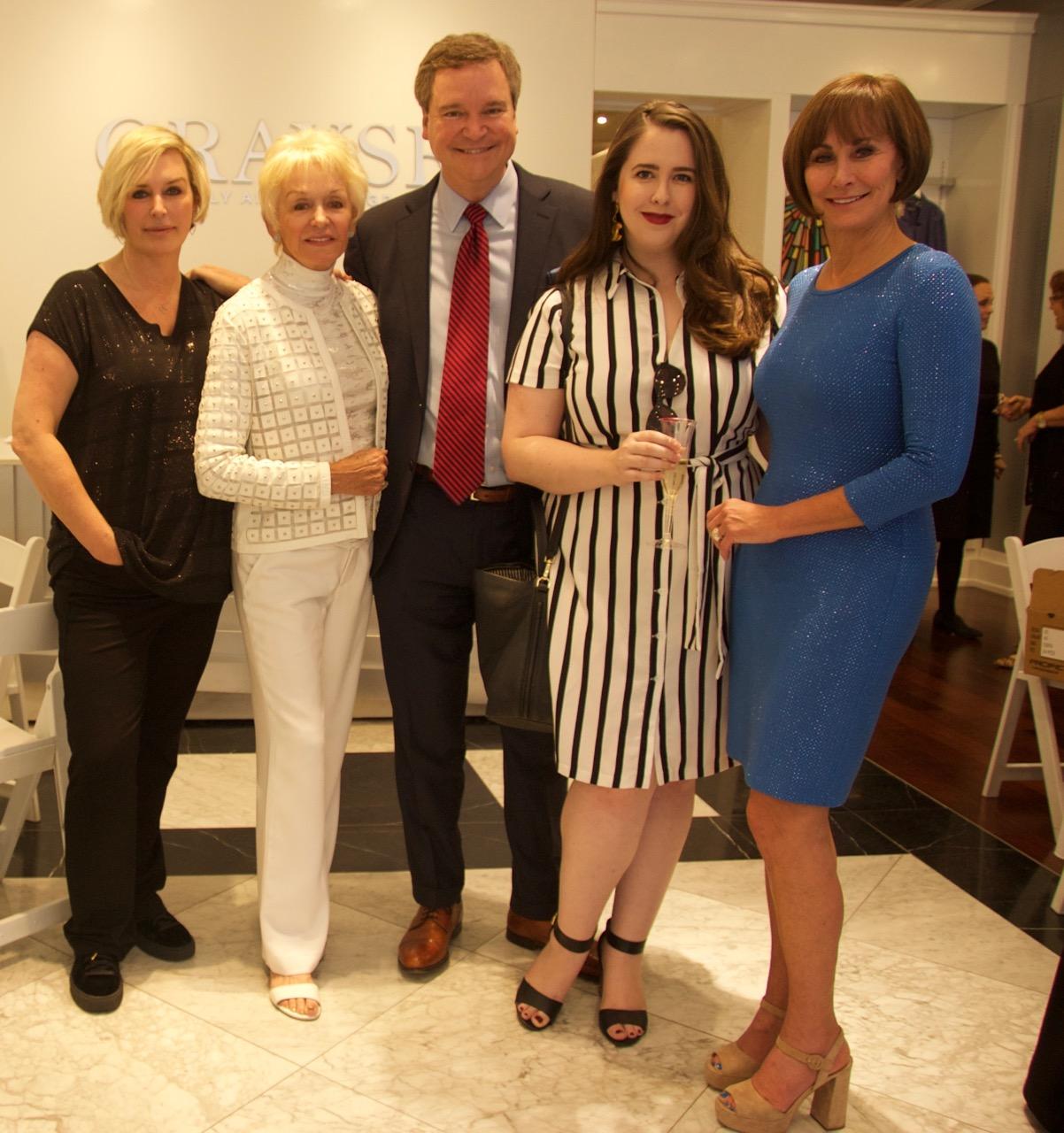 Kelly Gray, Marie Gray, Sam Haskell, & Lynn Weidner