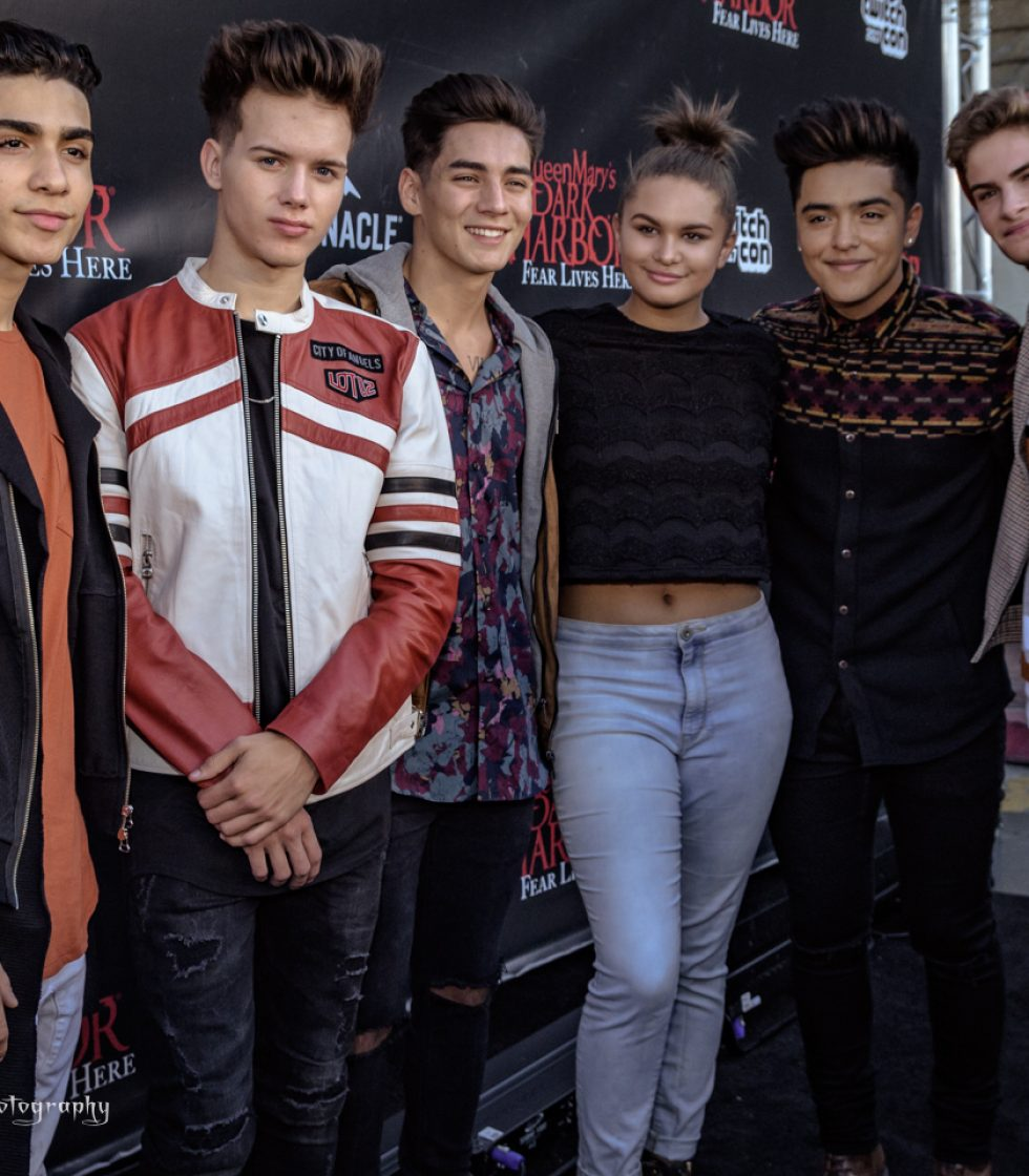 Radio Disney Host Lela Brown with ABC Boy Band IN REAL LIFE