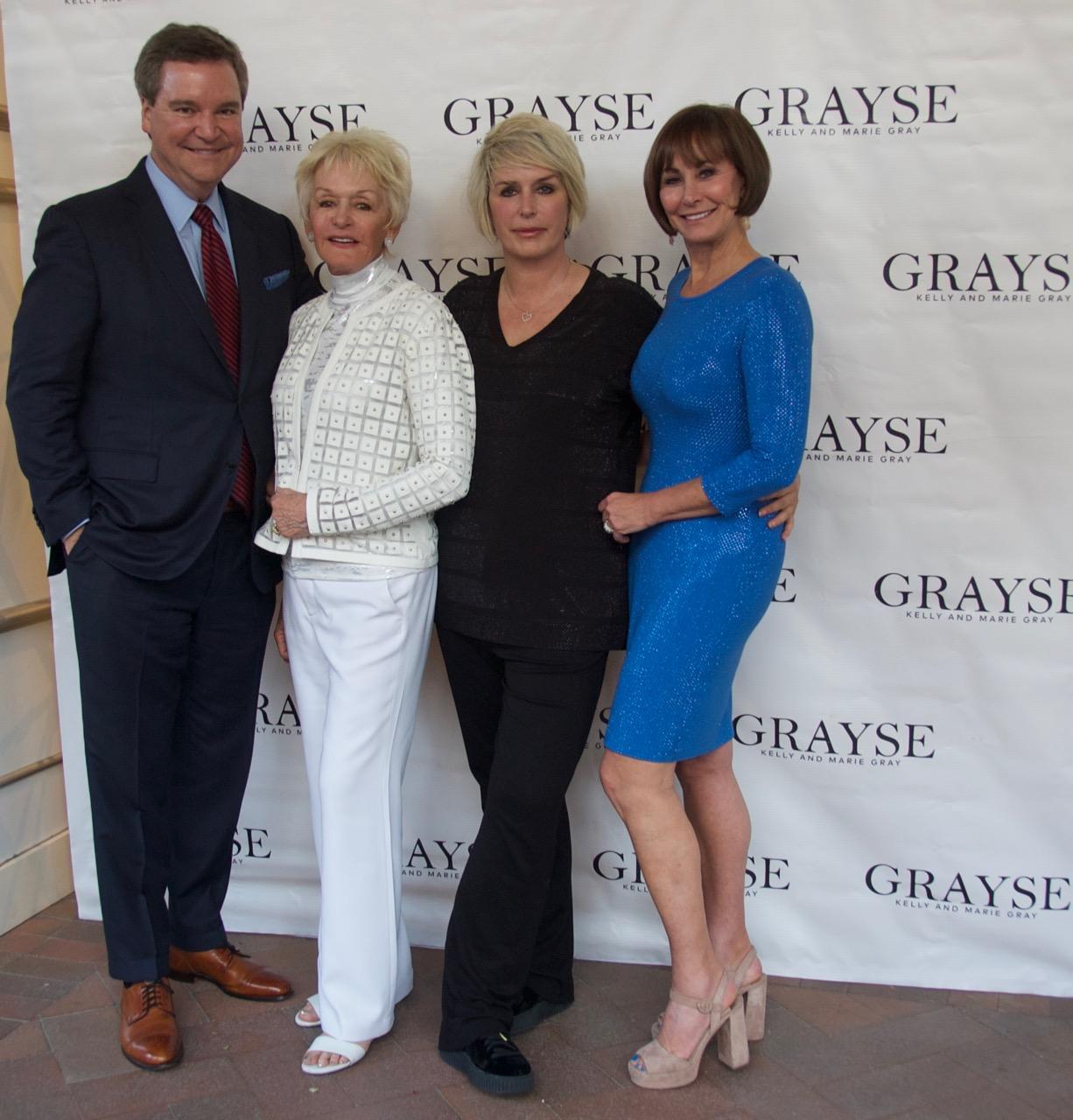 Sam Haskell, Marie Gray, Kelly Gray, Lynn Weidner