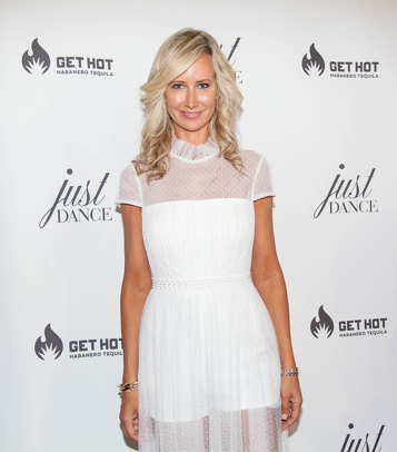 Model and Socialite Lady Victoria Hervey attend the grand opening event for JustDance LA at Just Dance Los Angeles