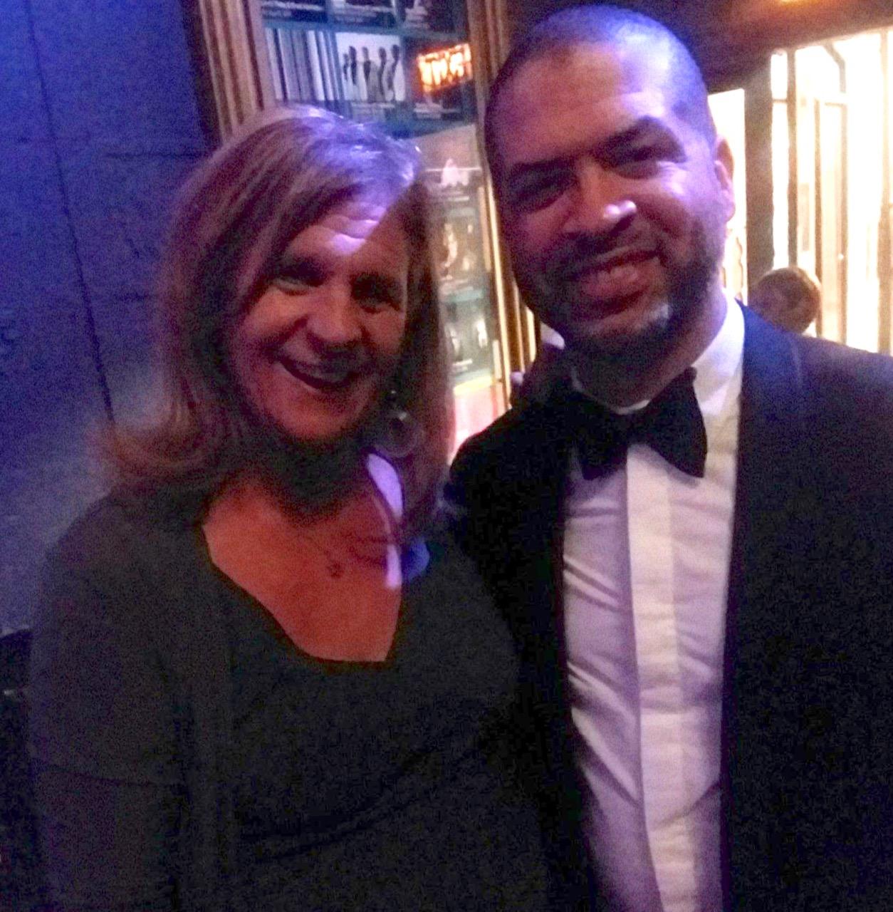 Sheryl Aronson and Jason Moran