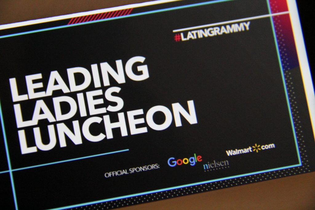 18th Annual Latin Grammy's Inaugural Leading Ladies Luncheon logo(Photo by: Fredwill Hernandez/The Hollywood 360)