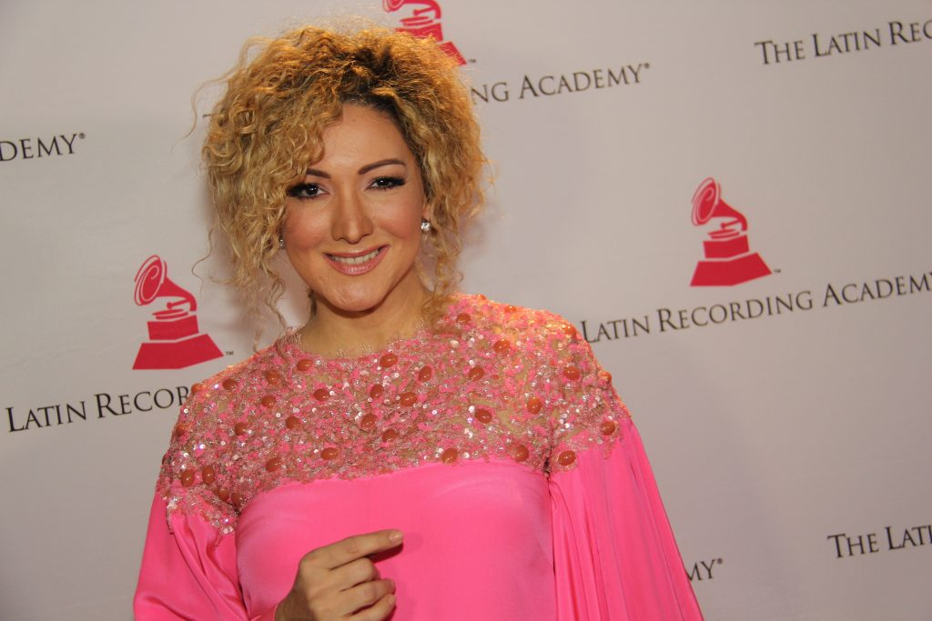 Latin music's high caliber songwriter Erica Ender (Photo by: Fredwill Hernandez/The Hollywood 360)
