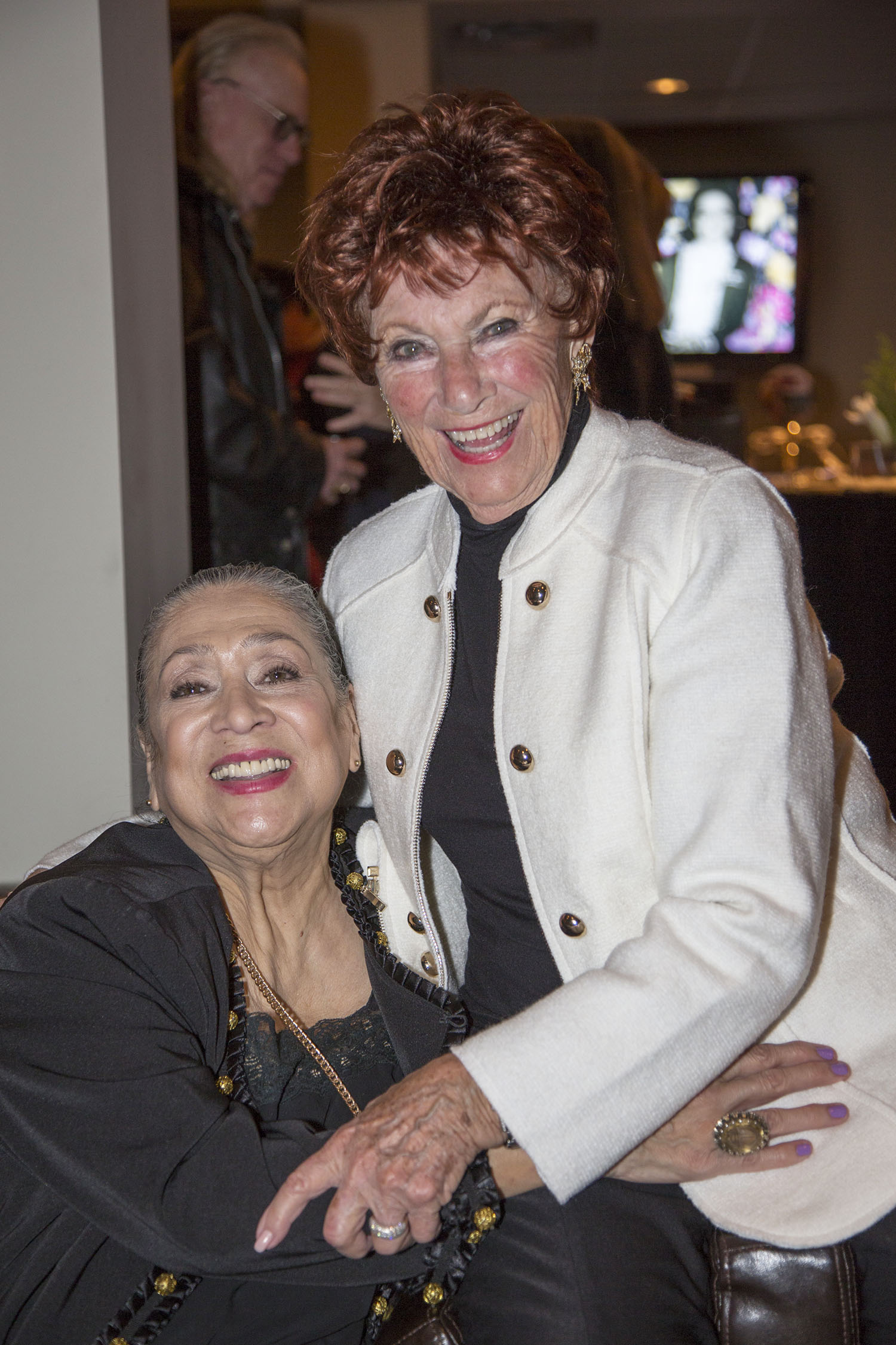 Liz Torres and Marion Ross