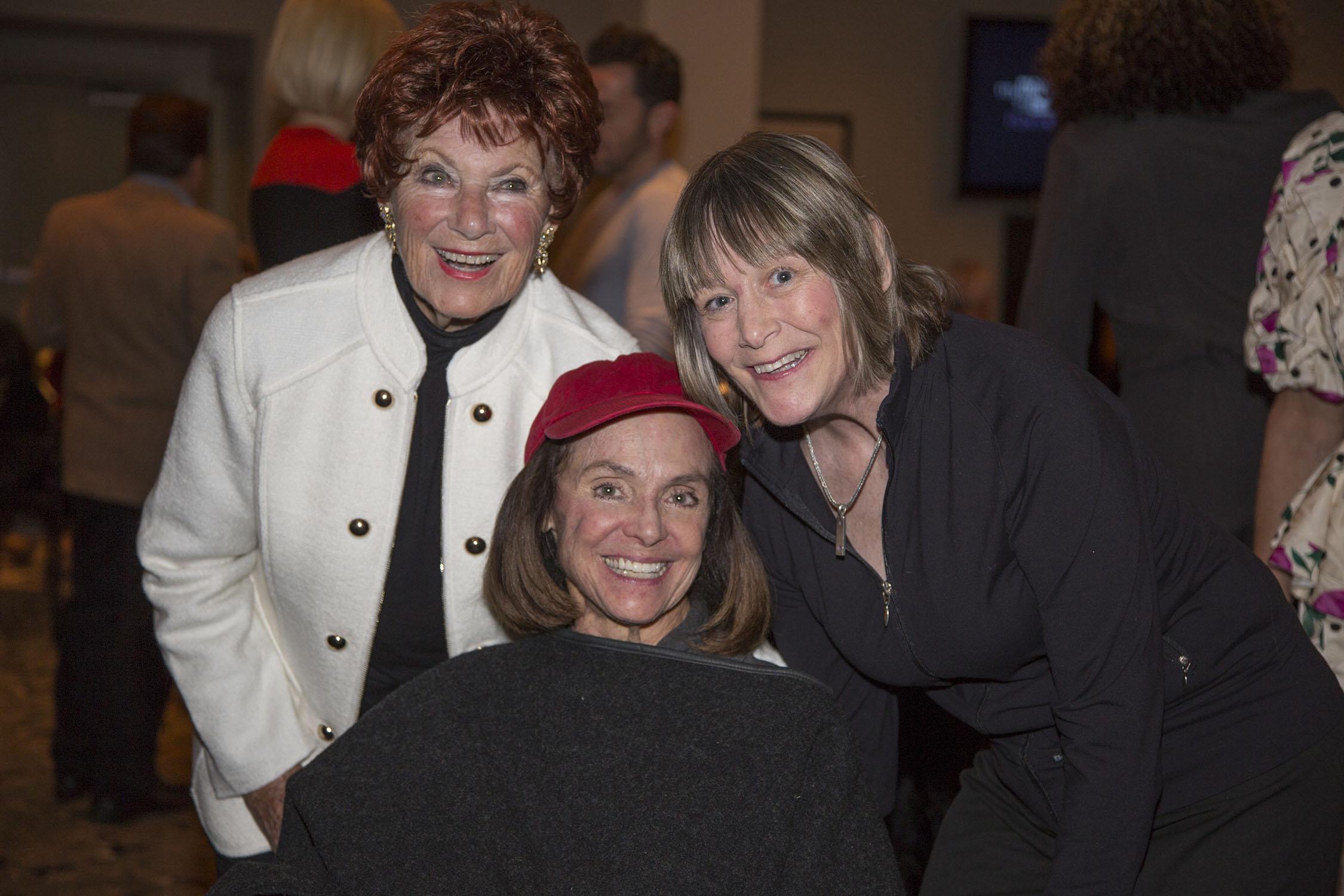 Marion Ross, Vaerie Harper and Geri Jewel