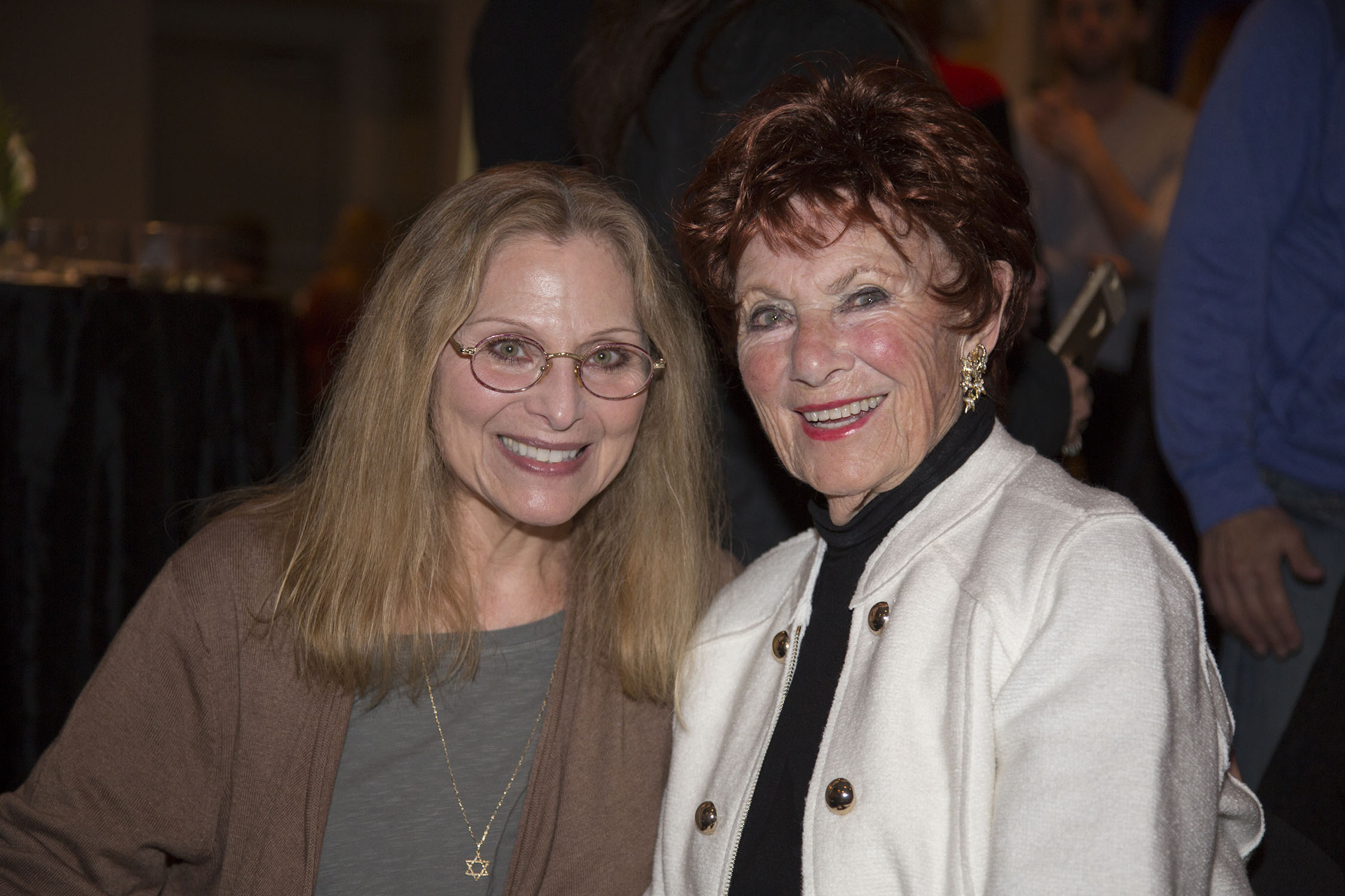Roslyn Kind and Marion Ross