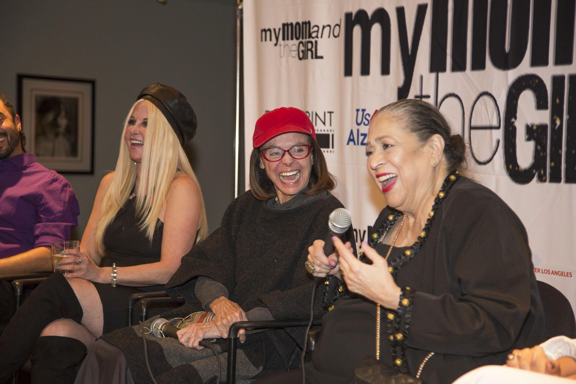 Susie Singer Carter, Valerie Harper and Liz Torres