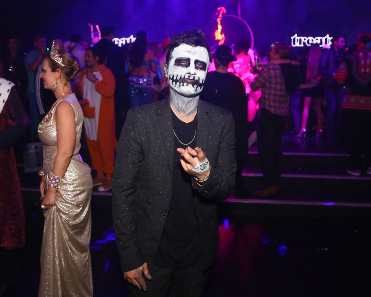 Actor Josh Hutcherson attends treats! Magazine's 7th Halloween Party in Partnership with Rolls-Royce Black Badge, Absolut Elyx, & Perrier Jouet on October 31, 2017 in Los Angeles, California. The Hunger Games star still won our hearts with this look. (Photo by Gabriel Olsen/Getty Images for Treats Magazine)