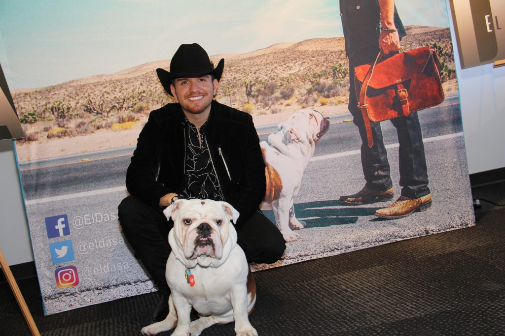 El Dasa with Benito! (Photo by: Fredwill Hernandez/The Hollywood 360)