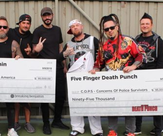 Five Finger Death Punch & Breaking Benjamin: Donate $190,000 From Successful Summer Tour To Charity @FFDP