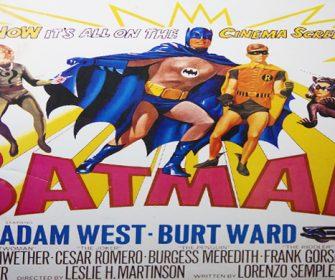 The Hollywood Museum Hosts a Batman 66 Exhibit Panel