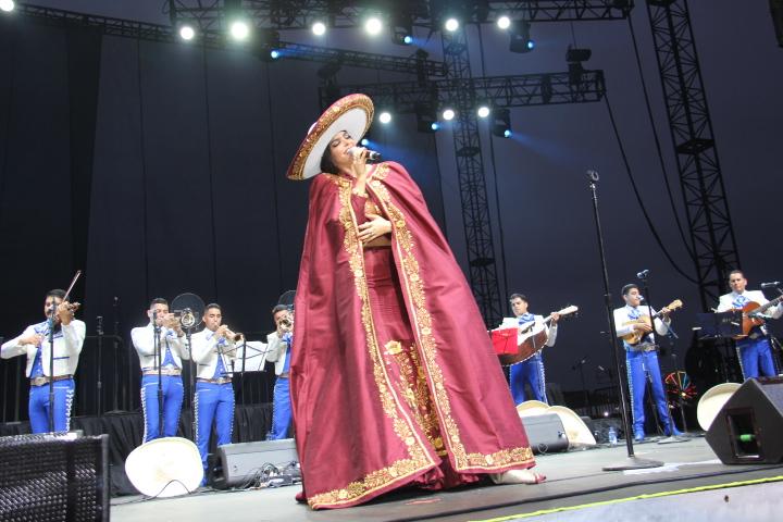 Mariachi Sol De Mexico's Jose Hernandez brings [Father's Day